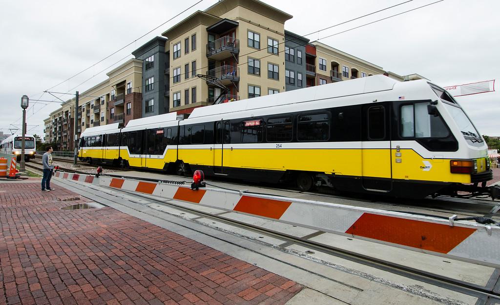 Rail-volution DART Downtown Plano