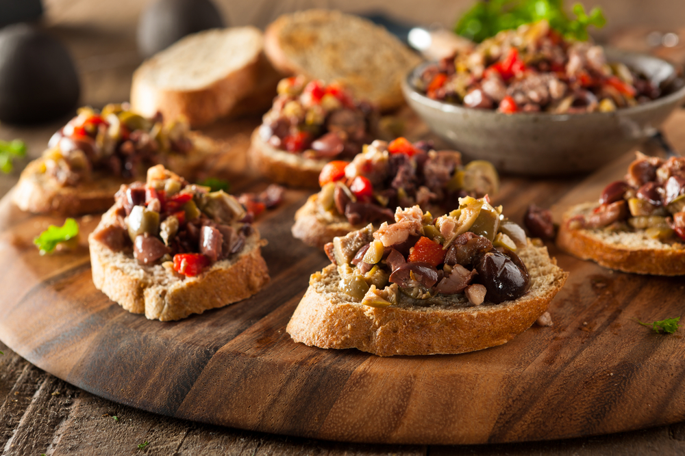 tri-color tapenade