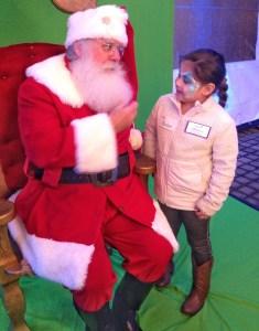 children's health santa girl