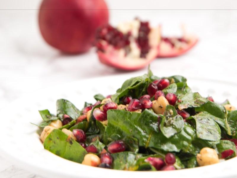 Kale Salad Pomegranate recipe