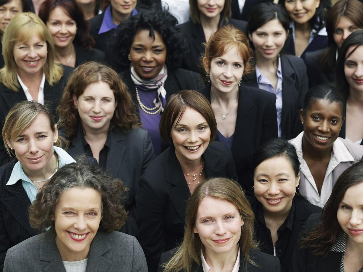 multiethnic business women