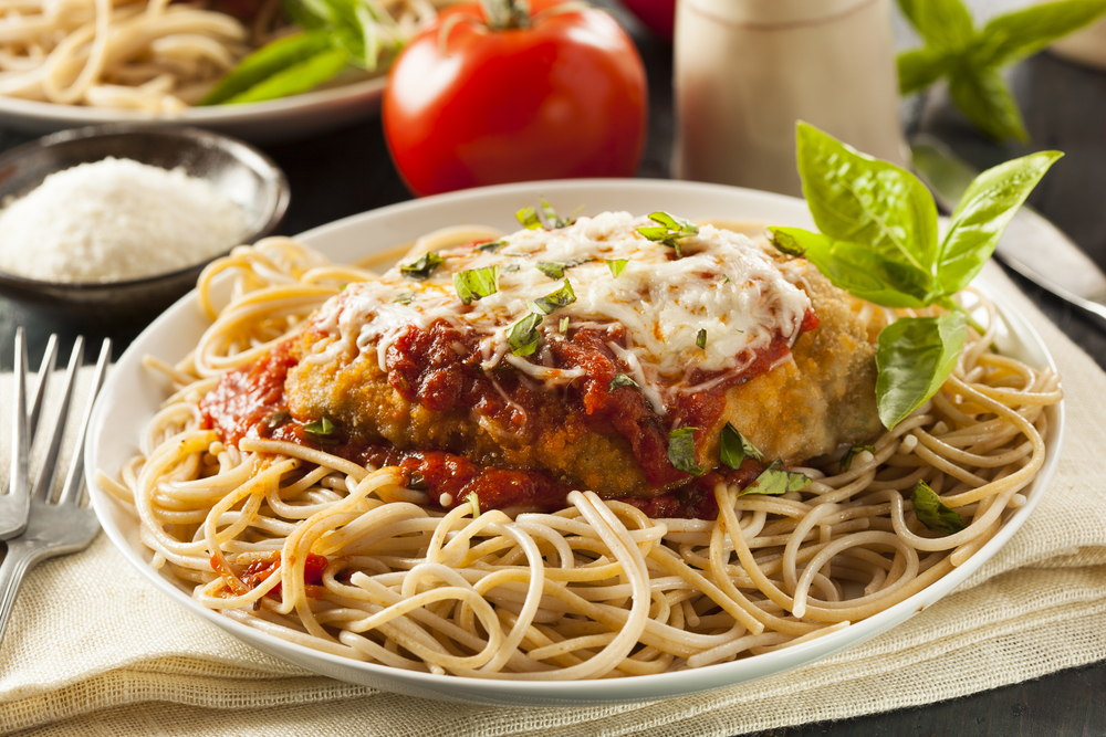 recipe baked chicken parmesan