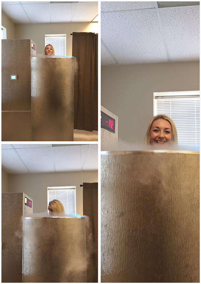 dr skinner plano family health and wellness cryotherapy chamber