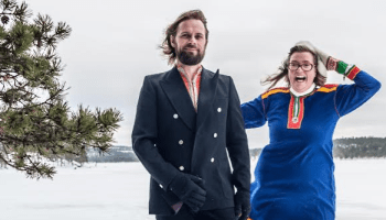 Finnish folk duo Vellamo, Allen Public Library