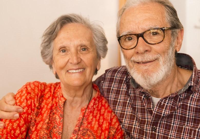 elder couple old people