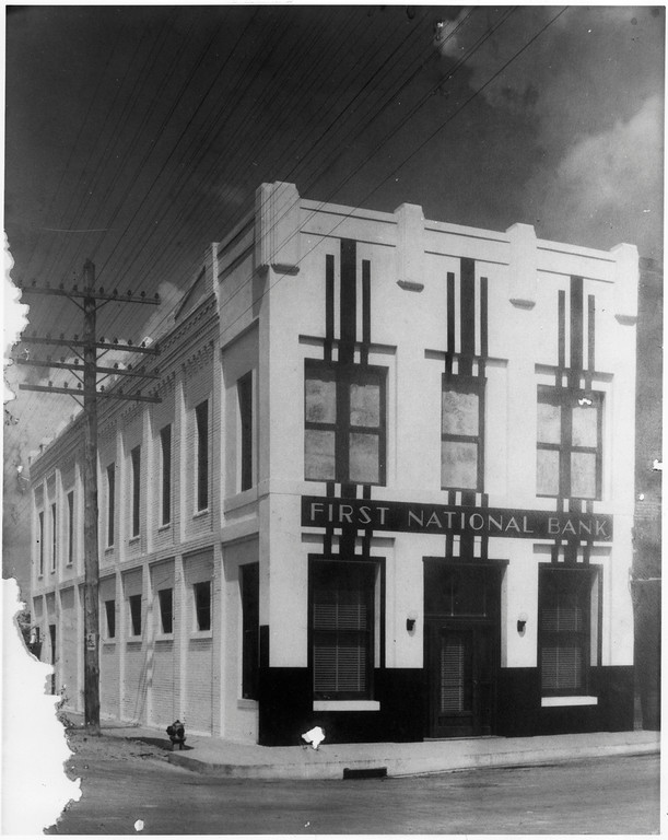 PLANO FIRST NATIONAL BANK, A. R. SCHELL
