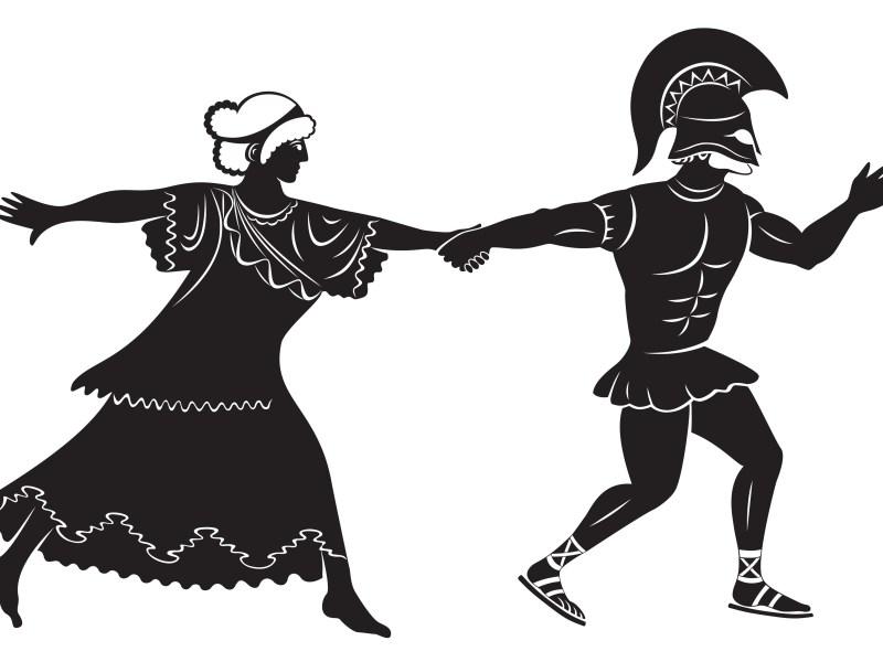 spartacus ballet figure