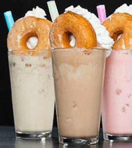 donut shake, grub burger bar, plano