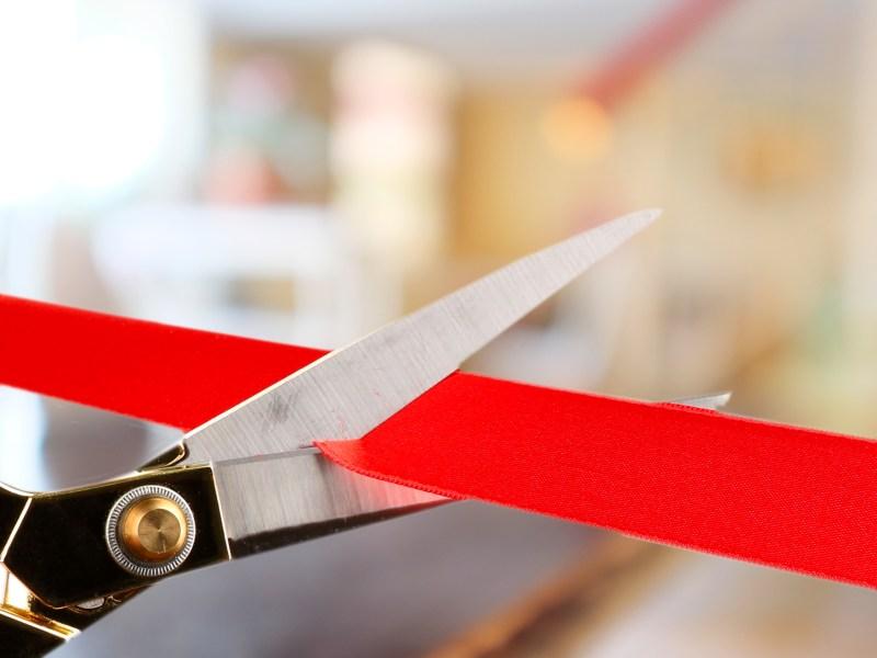 ribbon cutting plano bates wellness
