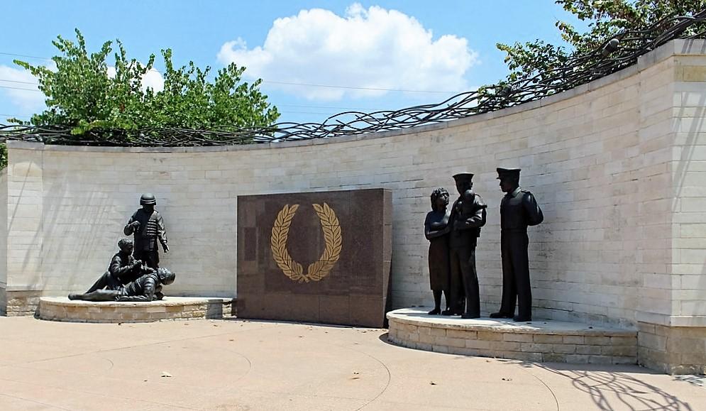 Memorial Park ceremony in Plano Memorial Day