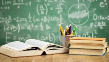 PRAP scholarships book and chalkboard
