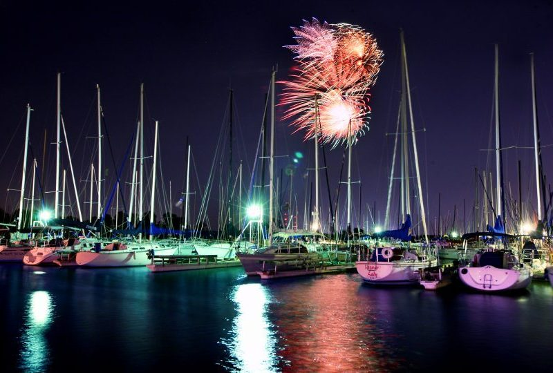 Lake Fireworks Grapevine Tx lakes boating local summer fun