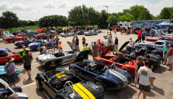 LegacyTexas Bank Shelby Car Show
