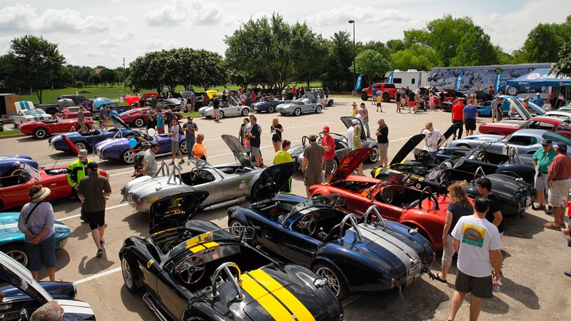 LegacyTexas Bank Shelby Car Show