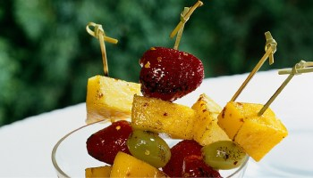 recipe grilled fruit skewer kabob
