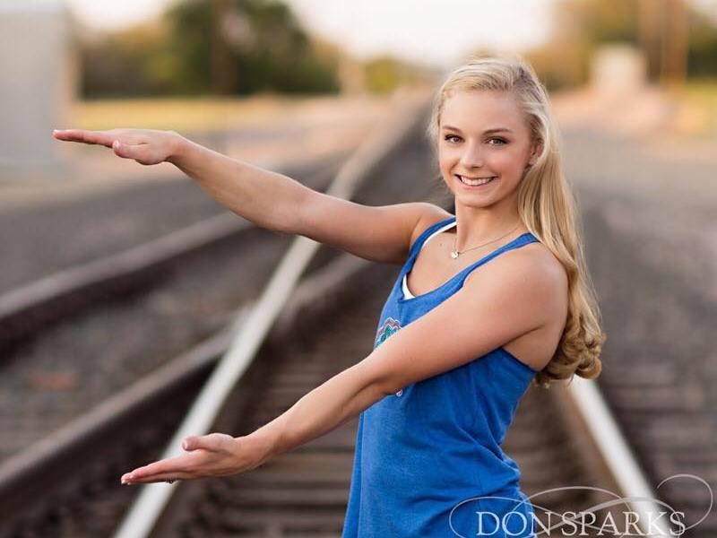 Alyssa Baumann Plano WOGA gymnast