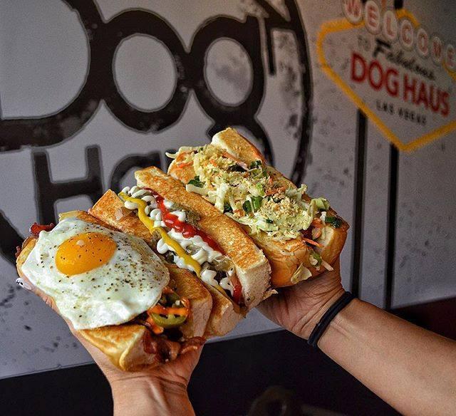 dog haus gourmet hot dogs plano texas, plano restaurants, hot dogs, best restaurants