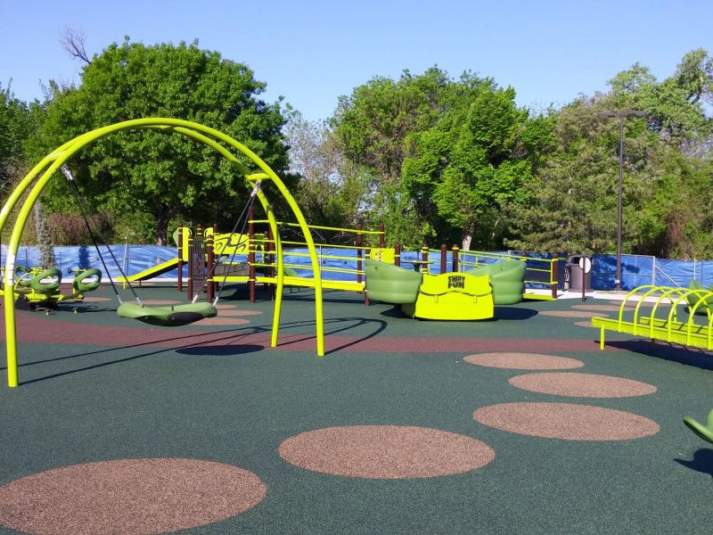 best playgrounds plano, plano texas, all-abilities playground, jack carter park