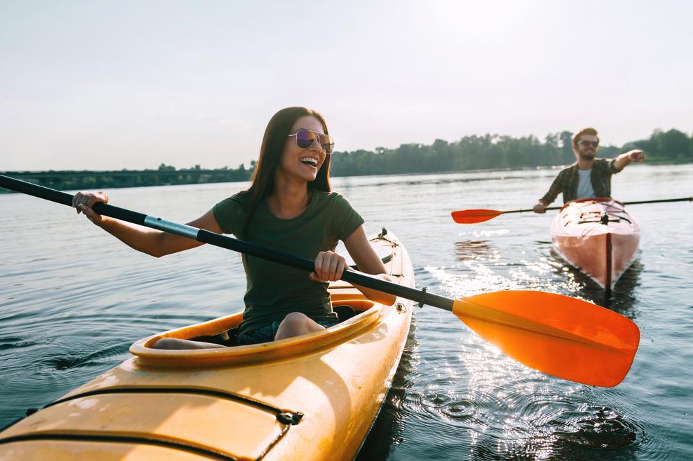 kayaking oak point park plano