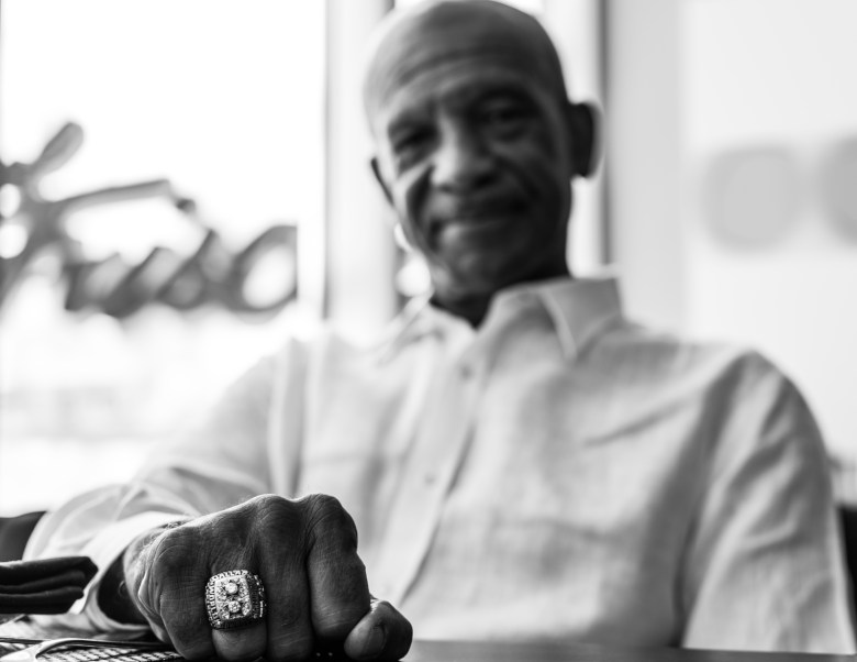 drew pearson talks family, football and newfound fame   photo by brandon hurd