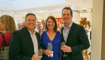 SKI Plano Chris-Bragg-Plano-ISD-Education-Foundation-Past-Board-President-with-Leslie-and-Mark-Newman