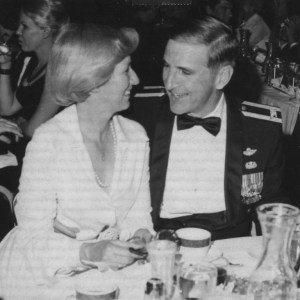 congressman sam johnson with his wife, shirley