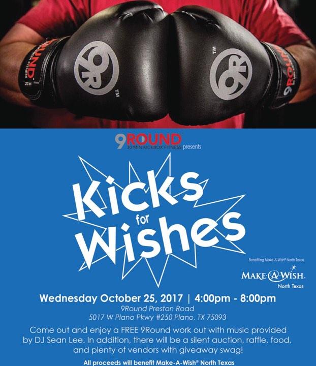 kick boxing 9round kicks for wishes plano