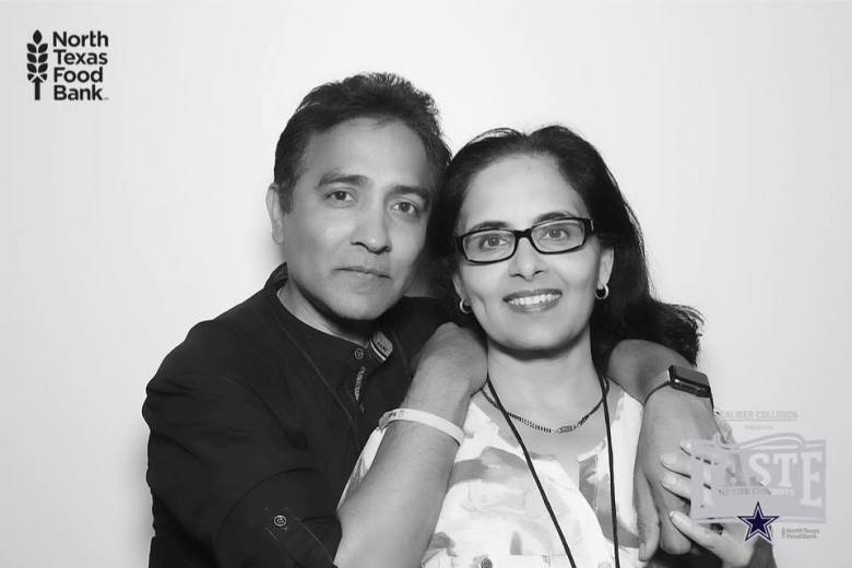 raj and anna asava north texas food bank indo-american council