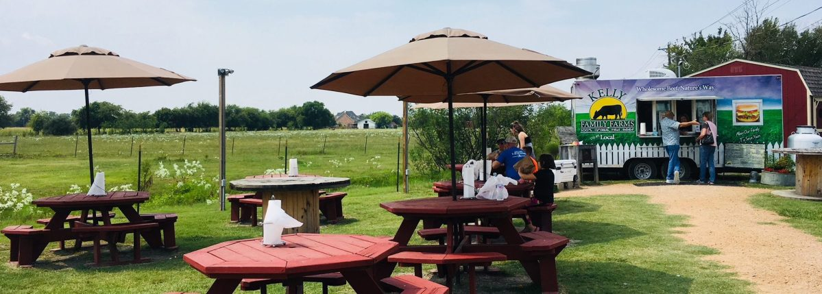 Parker, Texas, Kelly family farms, grass-fed beef, burgers