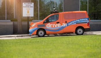 self-driving cars, shuttle service, HALL Park, Frisco, Texas