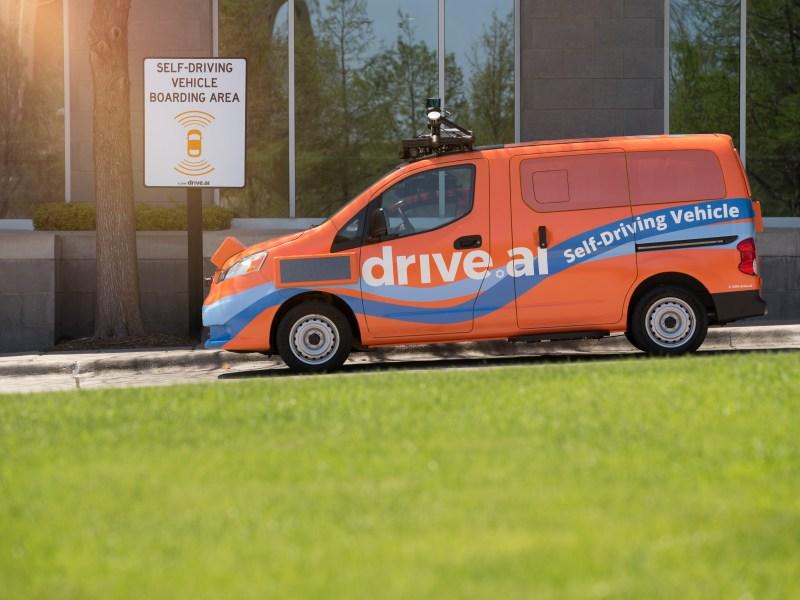 self-driving cars, shuttle service, HALL Park, Frisco, Texas