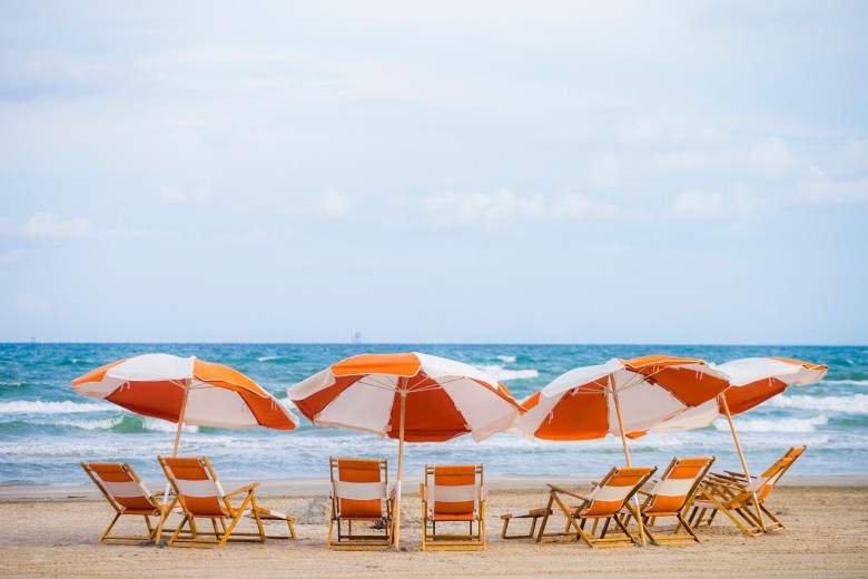 the beach at cinnamon shore, mustang island. photo by tim burdick