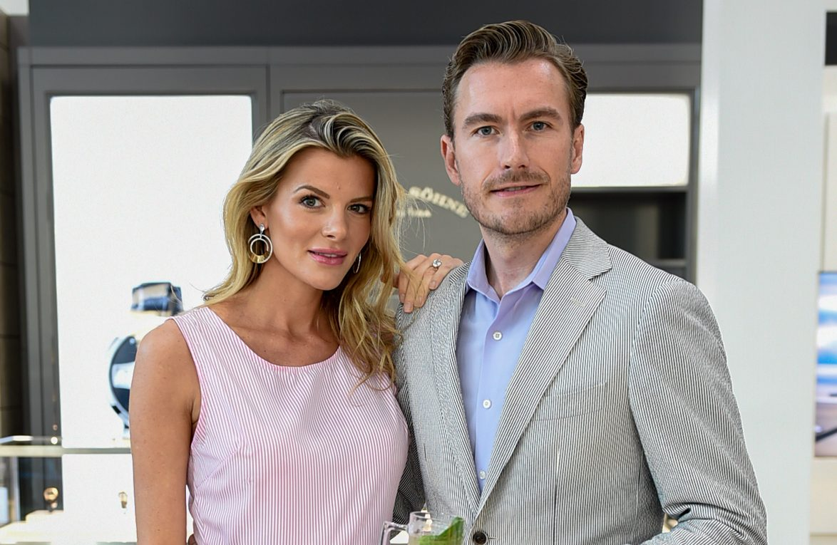 Timeless Luxury Watches owners Anna and Dan Broadfoot. Photo courtesy of Anna Broadfoot.