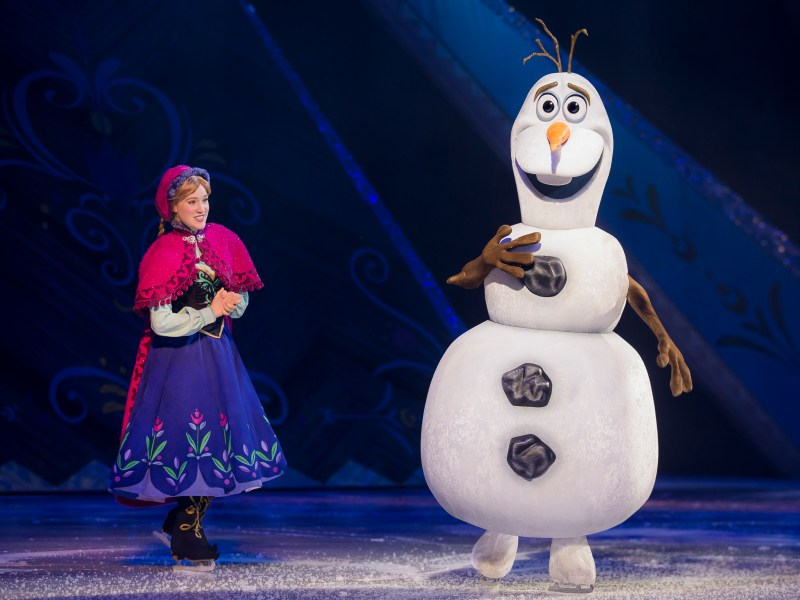 Frozen on Ice, Allen, Disney
