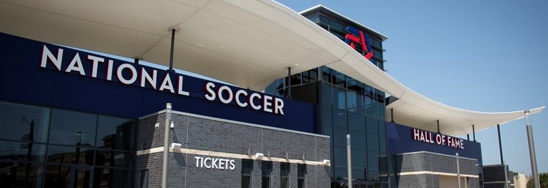 The National Soccer Hall of Fame, Frisco