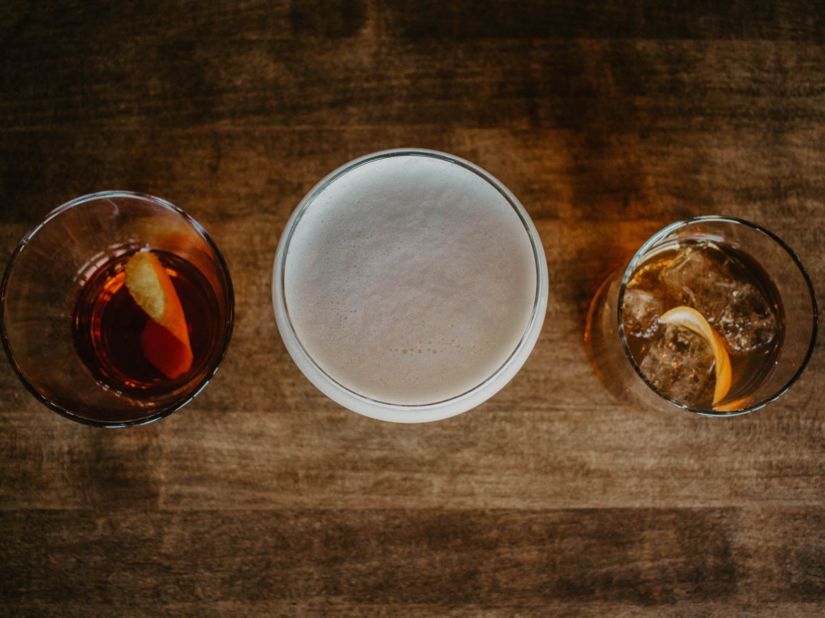 whiskey cake cocktails