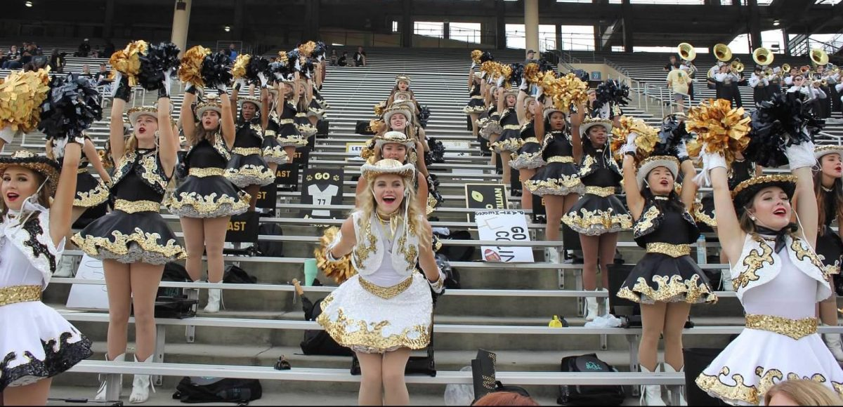 Plano East Golden Girls Drill Team, Meghan Trainor, Dallas Cowboys, Dallas Cowboys Cheerleaders, Thanksgiving