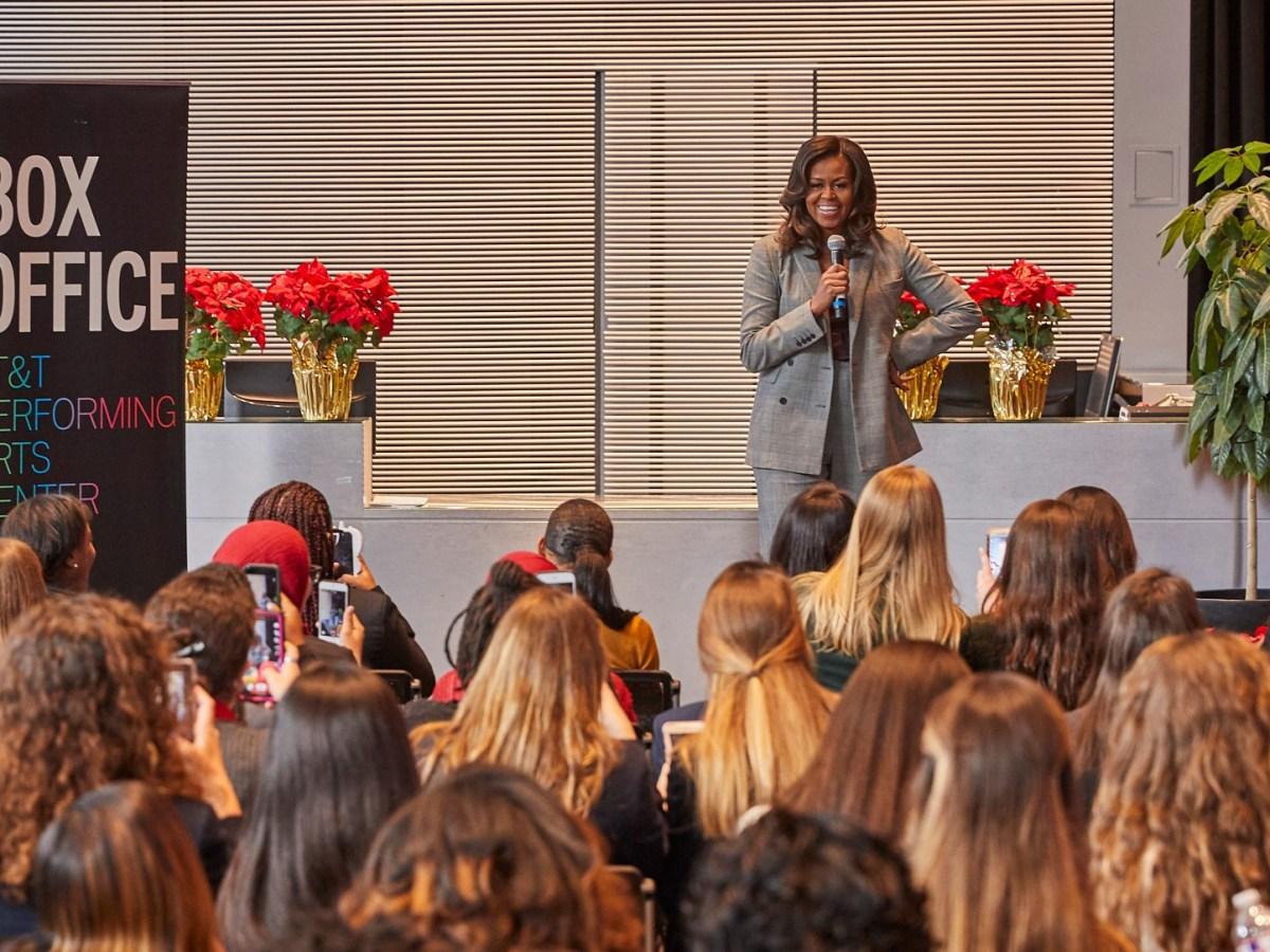 Michelle Obama at the Winspear Dallas
