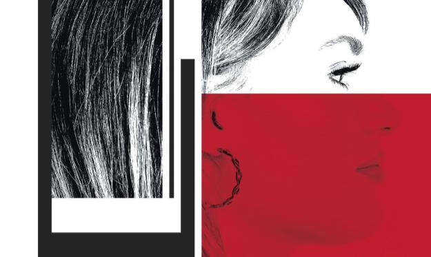 Isabella Fletcher portrait fault lines