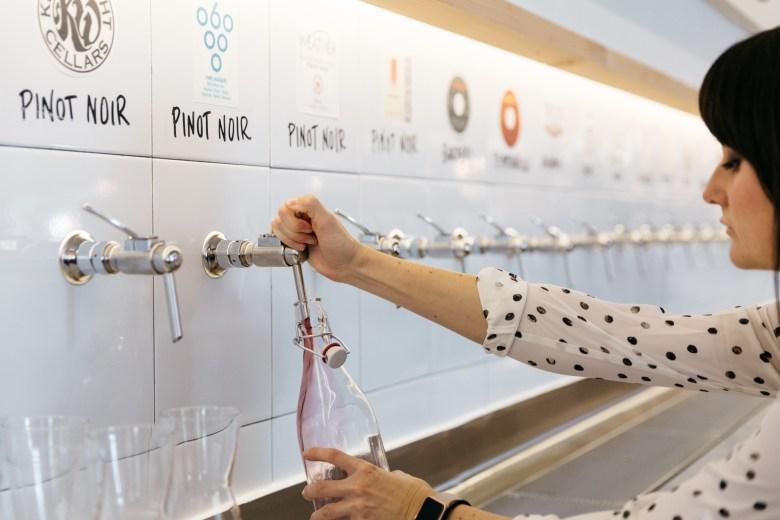 sv wine on tap