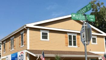 house built to house homeless female veterans