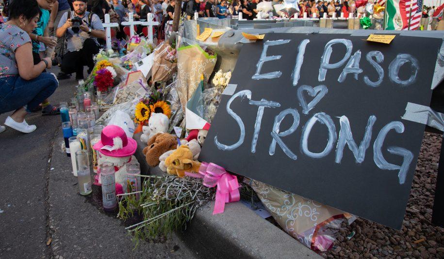 Memorial to Victims of the El Paso Attack