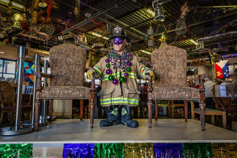 the fireman photo op at bongo beaux's in celina, texas