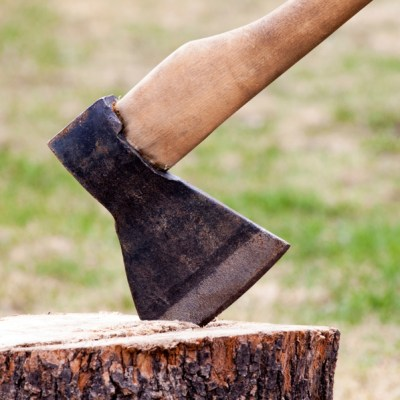 ax chopping wood, candy montgomery ax murder