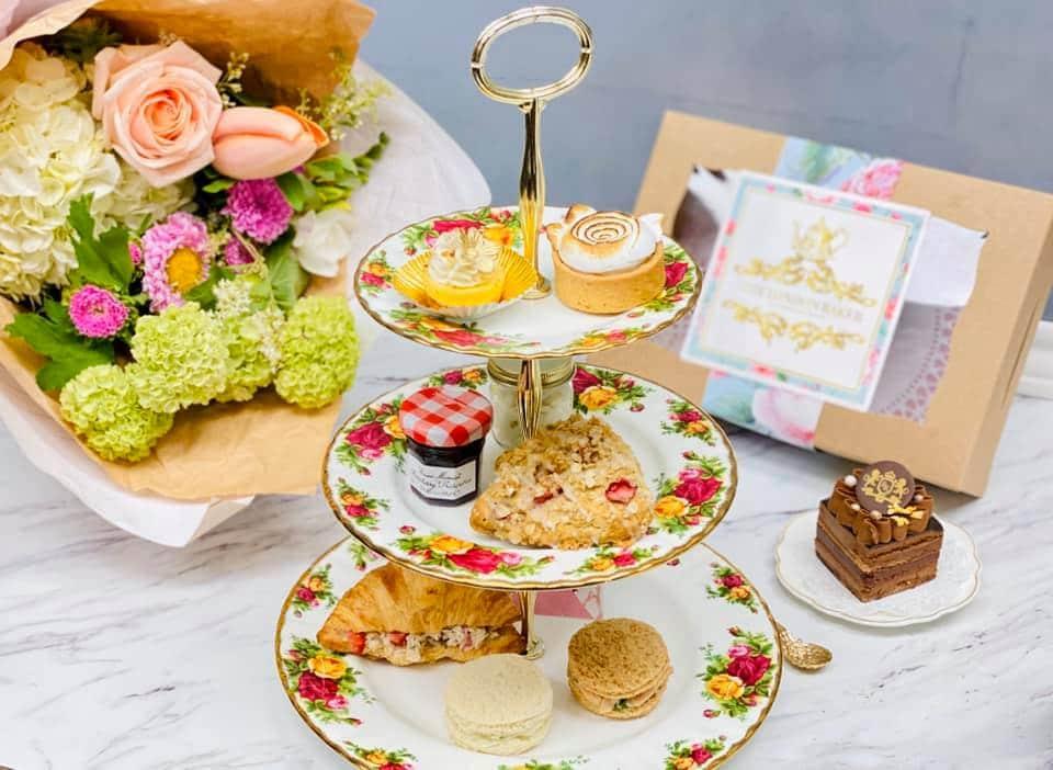 London Baker high tea