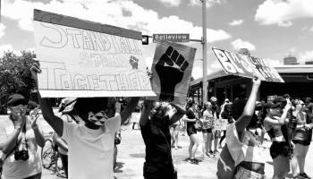 dallas police protest