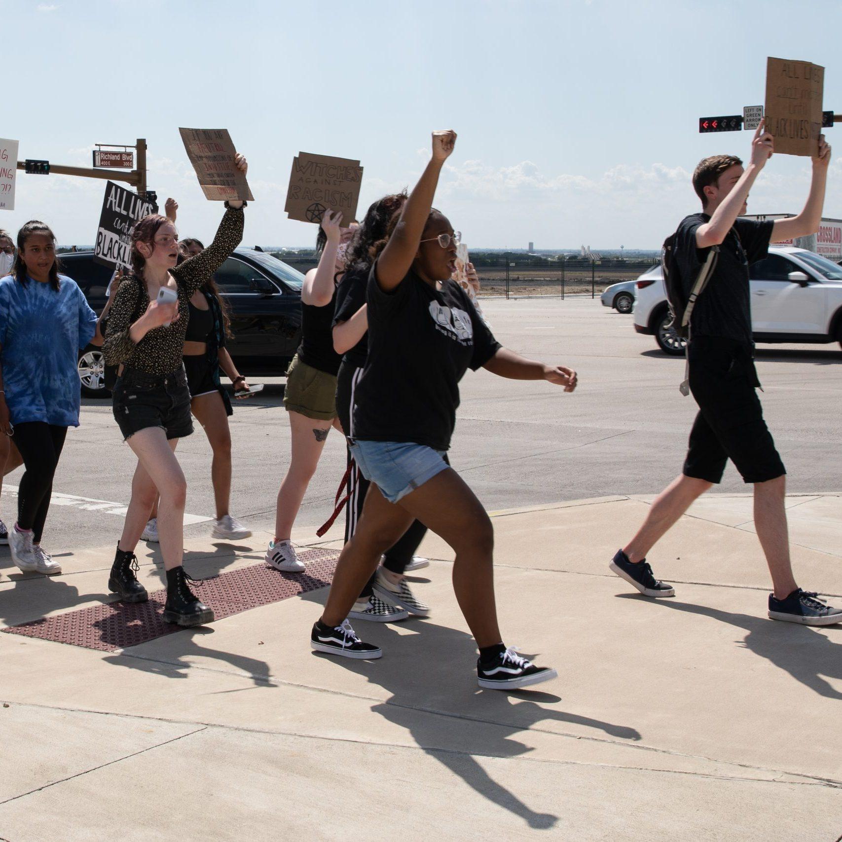 Prosper protest for Black Lives Matter