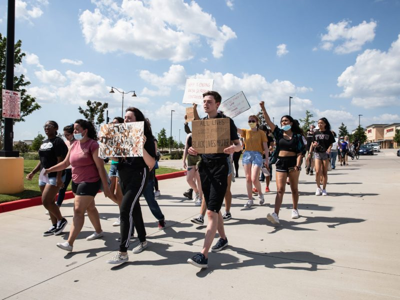 Prosper protest for Black Lives Matter