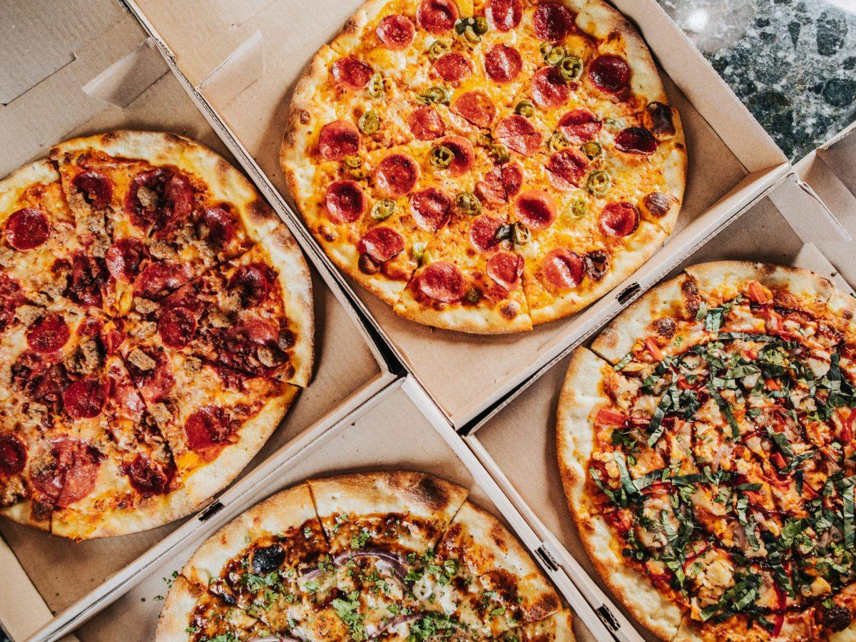 Meatza, The OG, Margherita zalat pizza