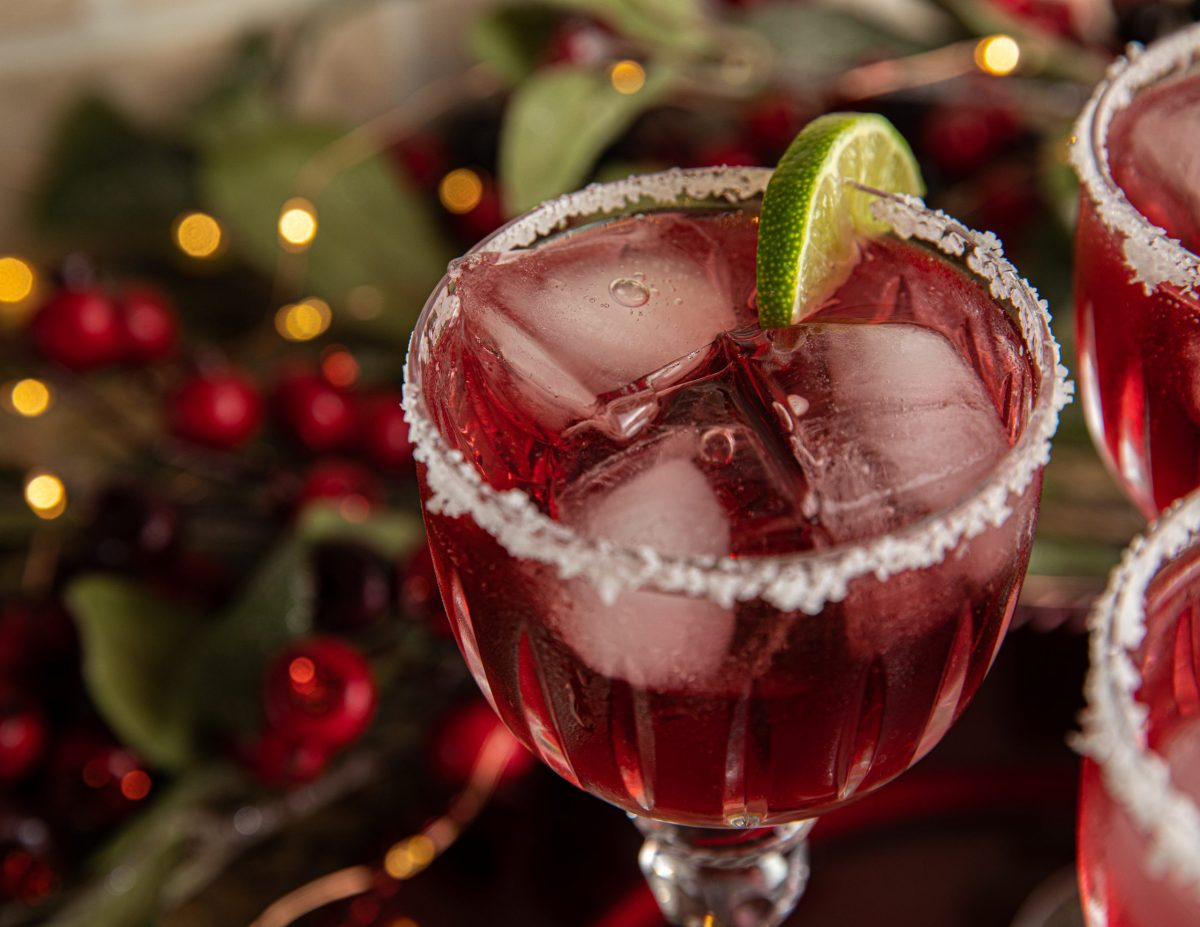holiday cocktails 2020